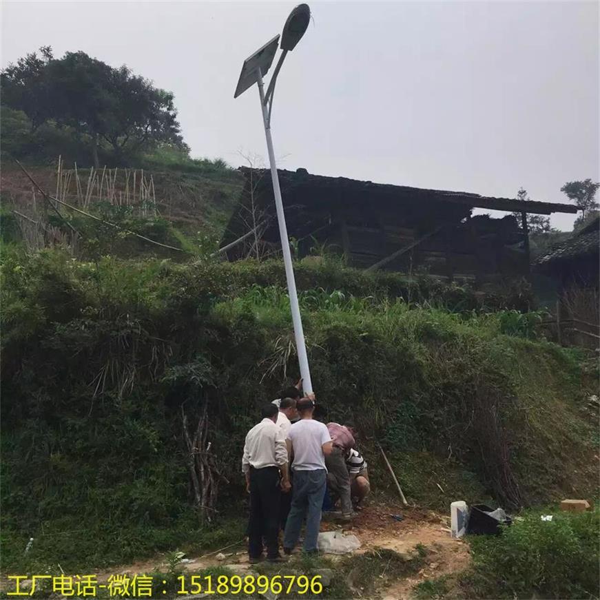 太原市6米锂电池太阳能路灯
