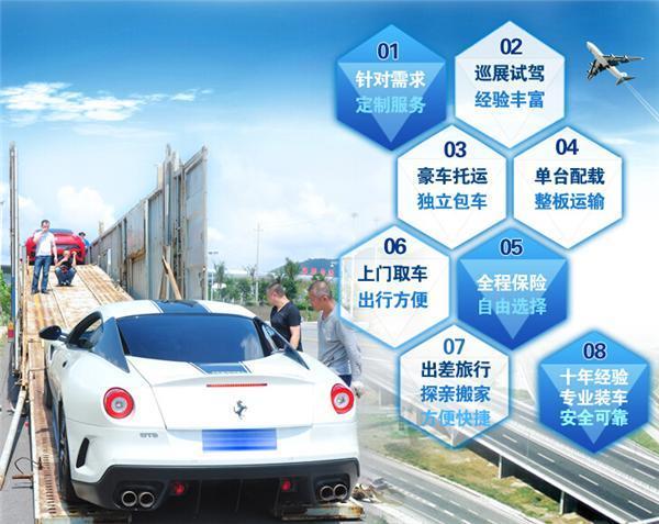 呼伦贝尔到深圳轿车托运优享私人定制服务