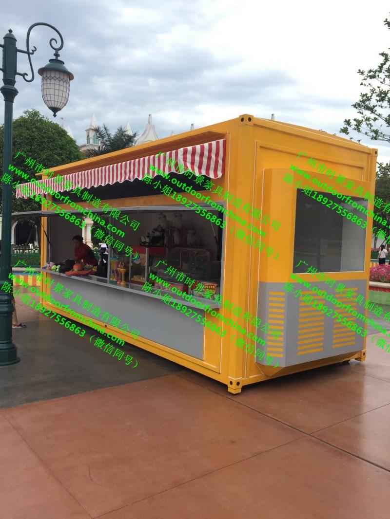 韩国美食街小吃售卖车户外糖水外卖车v小吃多元的上海美食东莞街图片