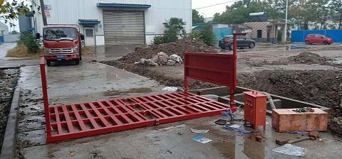 云浮渣土车辆洗车台厂家