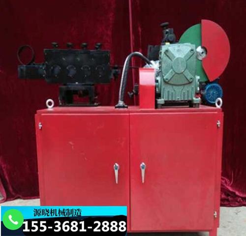 新疆塔城波纹管制管机操作流程