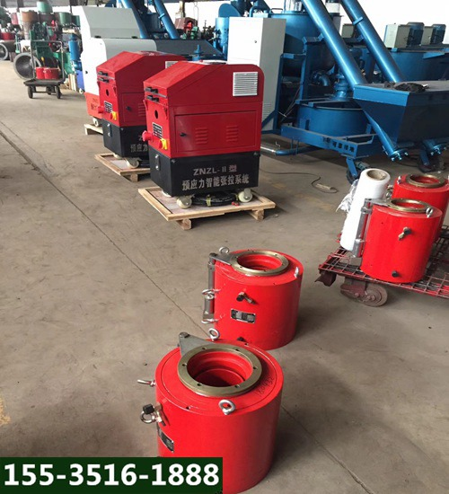 甘肃甘南全自动桥梁张拉油泵千斤顶高压电动油泵