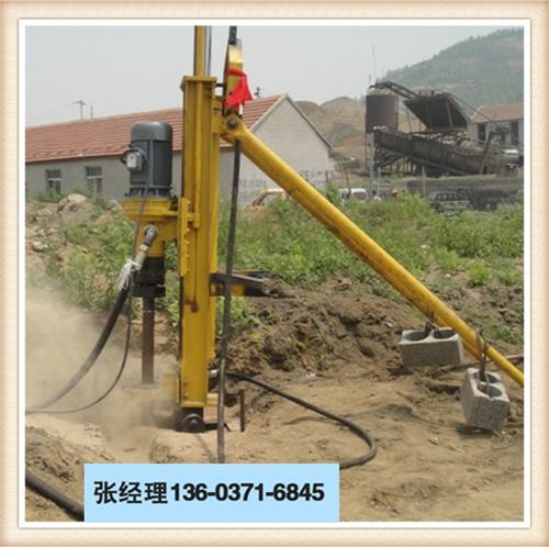 山西临汾蒲县100潜孔钻机厂家直销施工视频