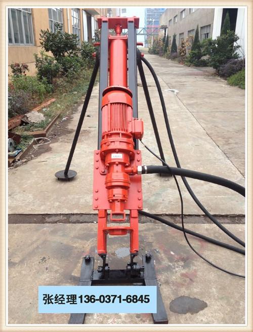安徽滁州定远县全气动潜孔钻机施工视频施工视频