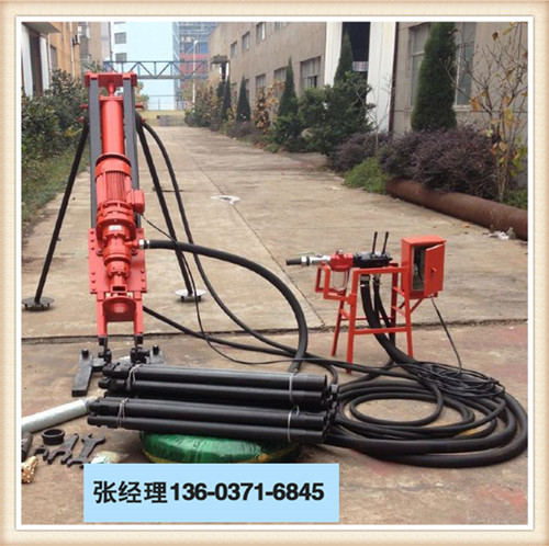 大理永平县风动潜孔钻机比较配套钻孔设备