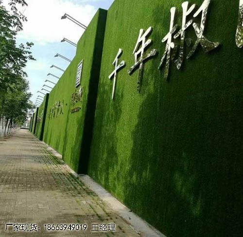 墙面墙专用仿真草坪重庆生产定制厂家
