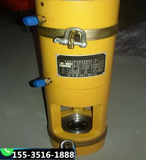 新疆昌吉电动油泵千斤顶锚具液压钢绞线挤压机