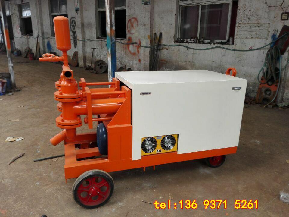 威海双缸双液砂浆泵技术力量雄厚