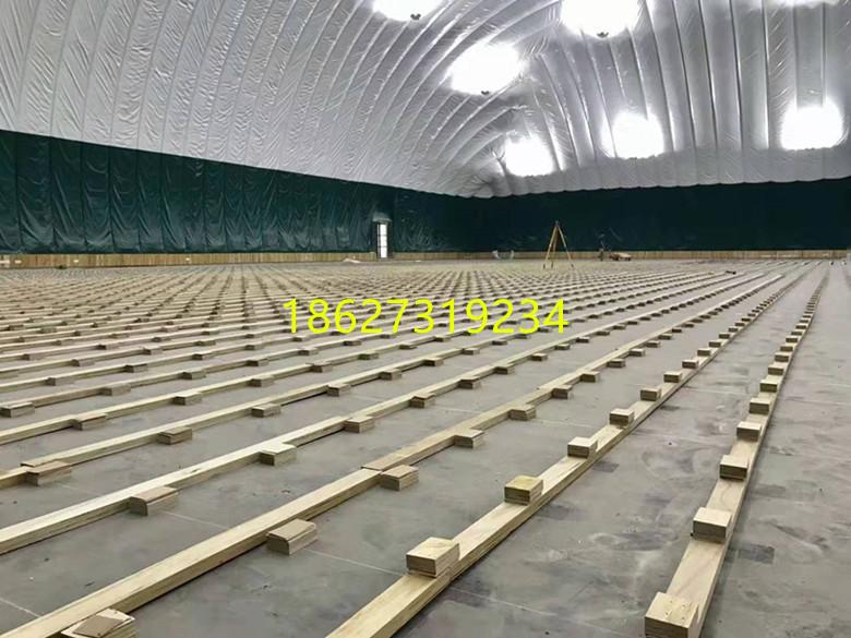 当阳市单龙骨体育木地板安装