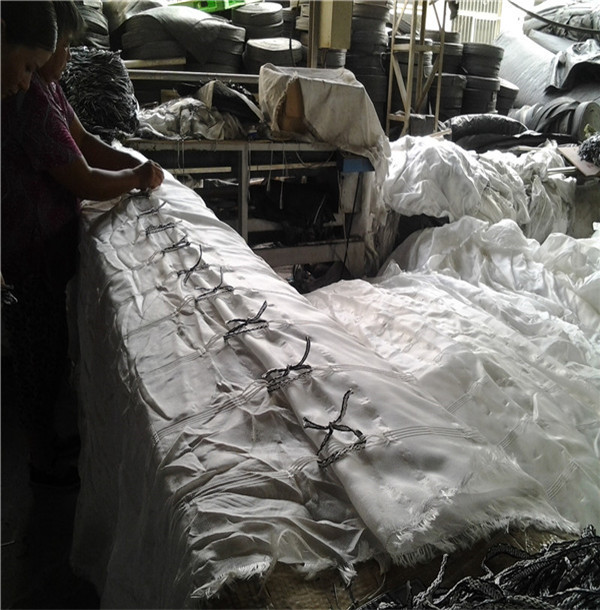 石家庄市模袋混凝土公司-充沙袋填充施工