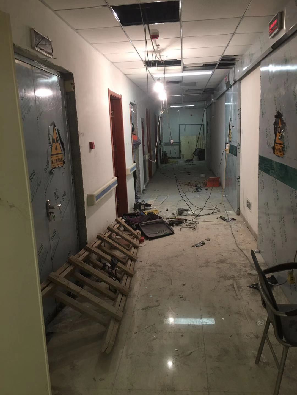 平凉资讯:介入室整体防护施工