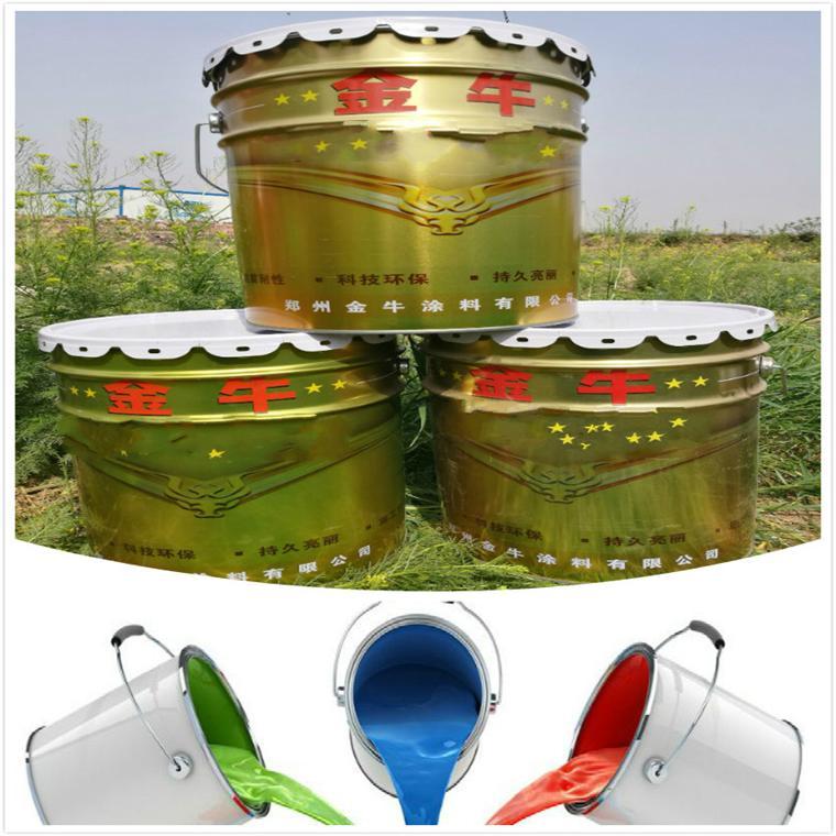宁陵县丙烯酸磁漆 双牛聚氨酯地坪漆环保型