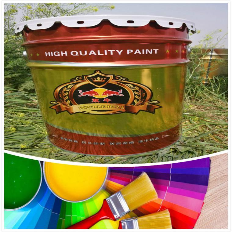 宁德冷镀锌漆银粉漆 双牛有机硅耐热油漆供应