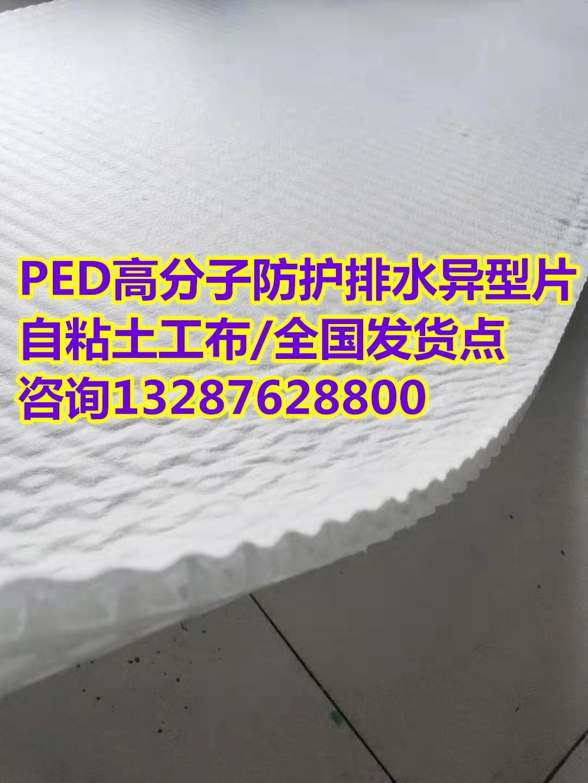 【汉中PED高分子防护排水异型片】(专业施工队伍)