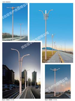 推荐:保定6米高太阳能路灯全年0电费