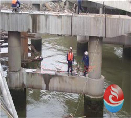 商城县水下桥桩加固质好是关键