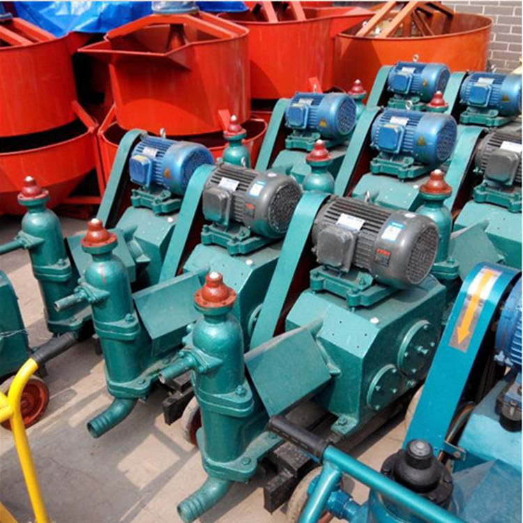 三明橋梁壓漿機灰漿泵單缸活塞式注漿泵