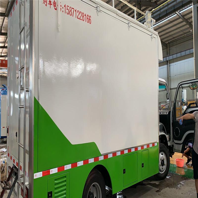 工地工业区专用移动快餐车外卖车