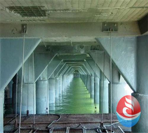 桥墩水下混凝土施工—(达县带水作业推进