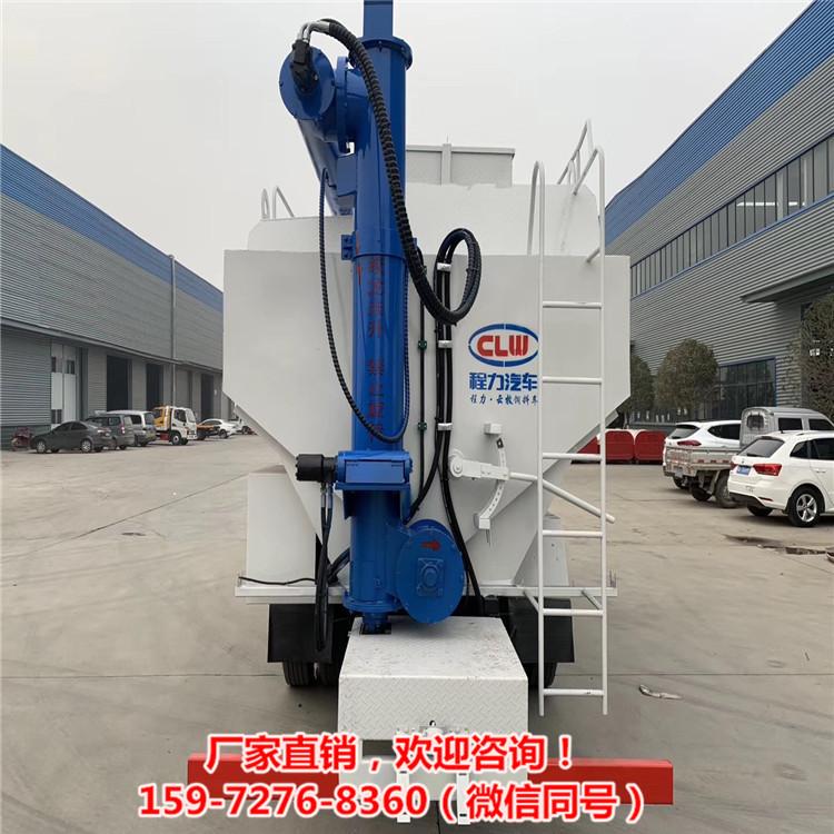 散裝飼料運輸車電動絞龍、液壓絞龍性能穩定