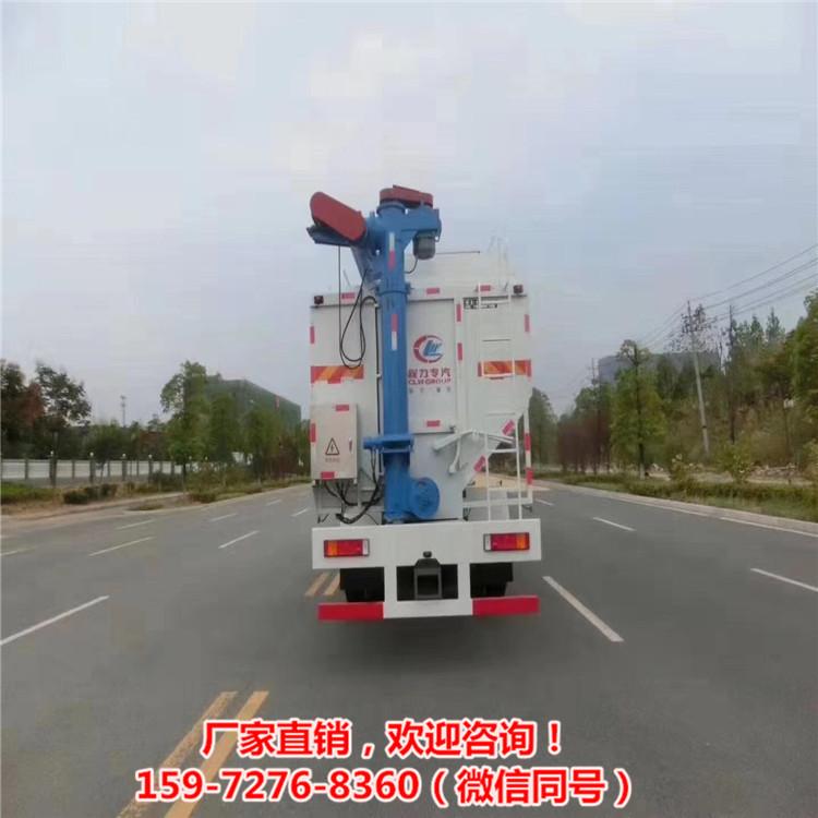 正大22方東風天錦豬場罐裝車6.2米豬飼料罐車定制