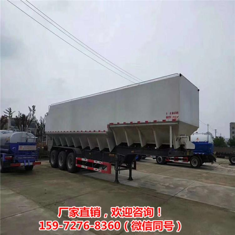 國六10噸養雞場專用飼料運輸罐前四后六鋁罐飼料車