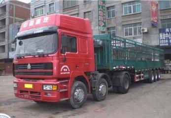 广州到渝北区有9米6高栏车出租货物运输