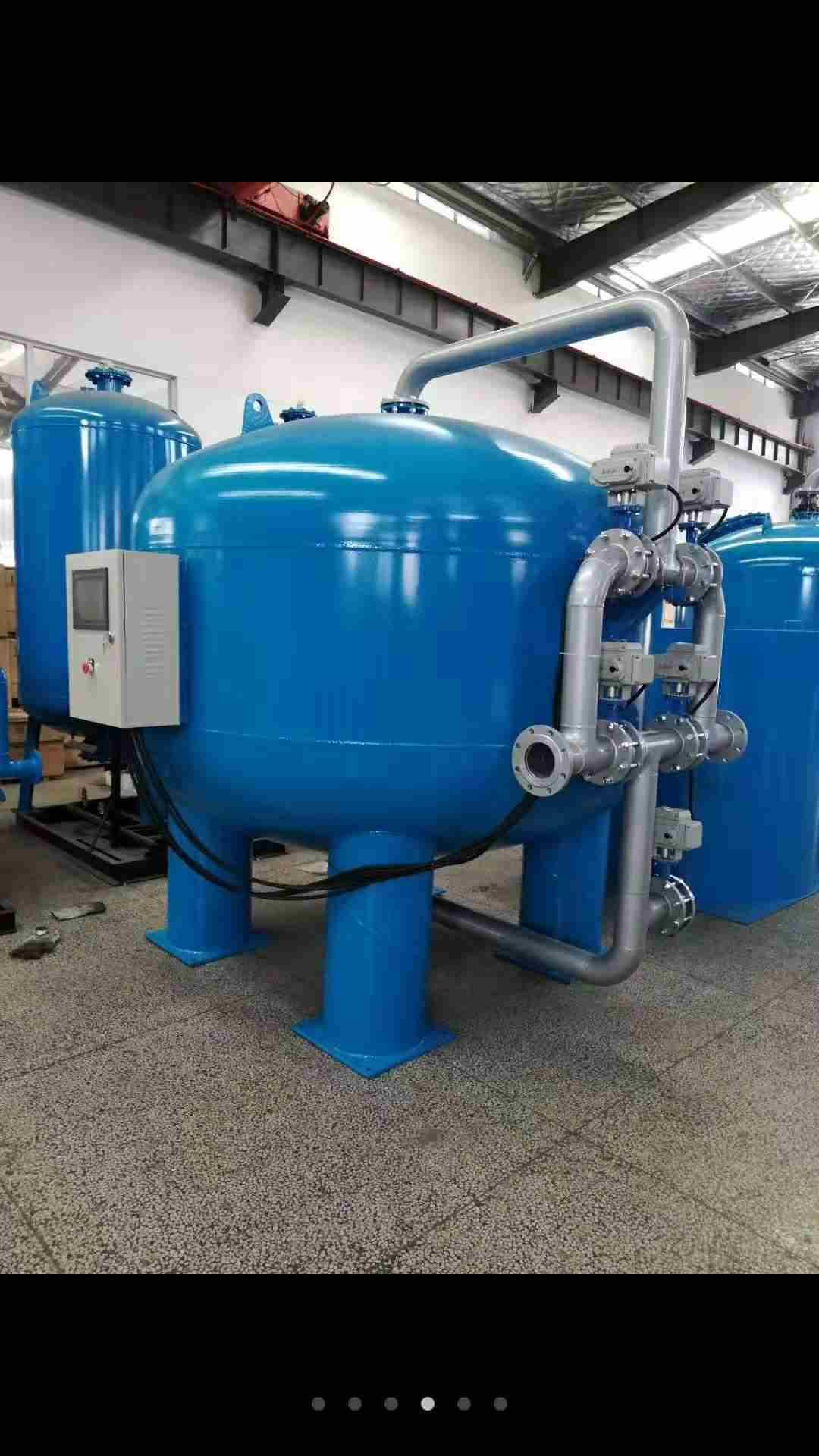 新型淺層砂過濾器更換濾料