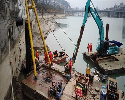 青島市過河管道穿越公司-潛水作業隊