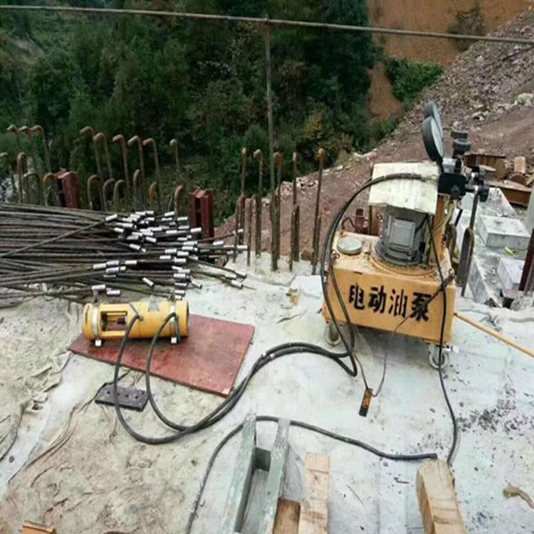 橋梁液壓鋼絞線擠壓機隴南