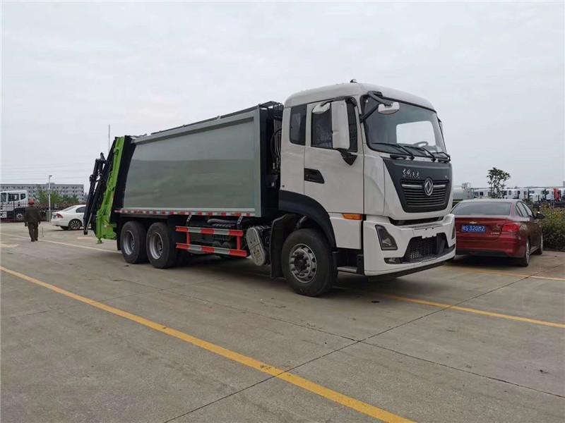 国六长安小型垃圾车垃圾车厂家/长安小型垃圾车出厂价
