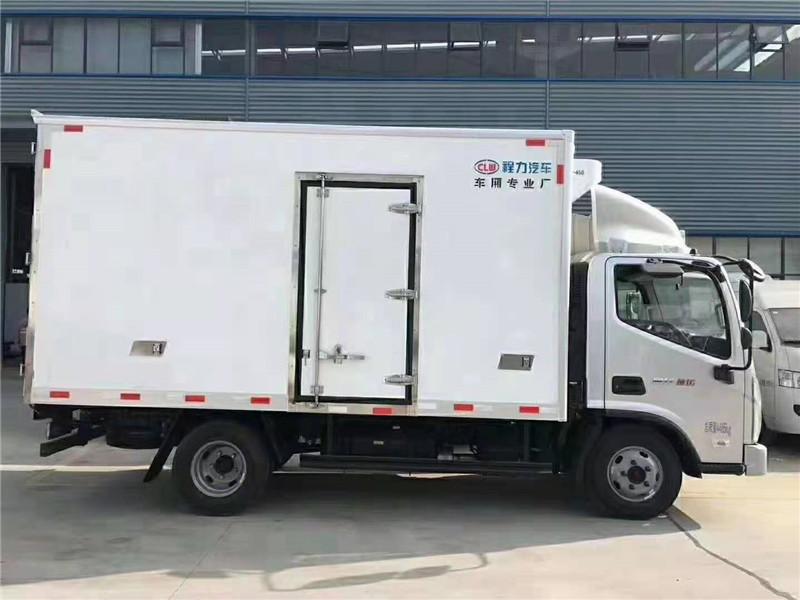 衢州小型汽油冷藏車4.2米冷藏車 配置報價