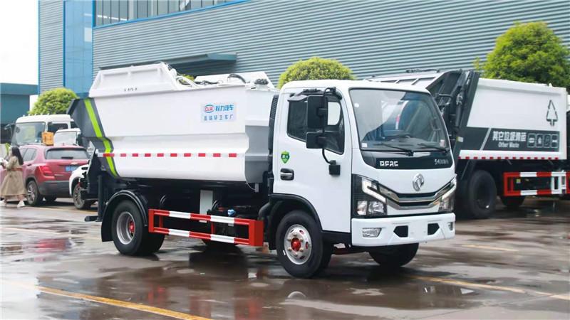 錫林郭勒盟4方垃圾中轉車物業垃圾車分期購