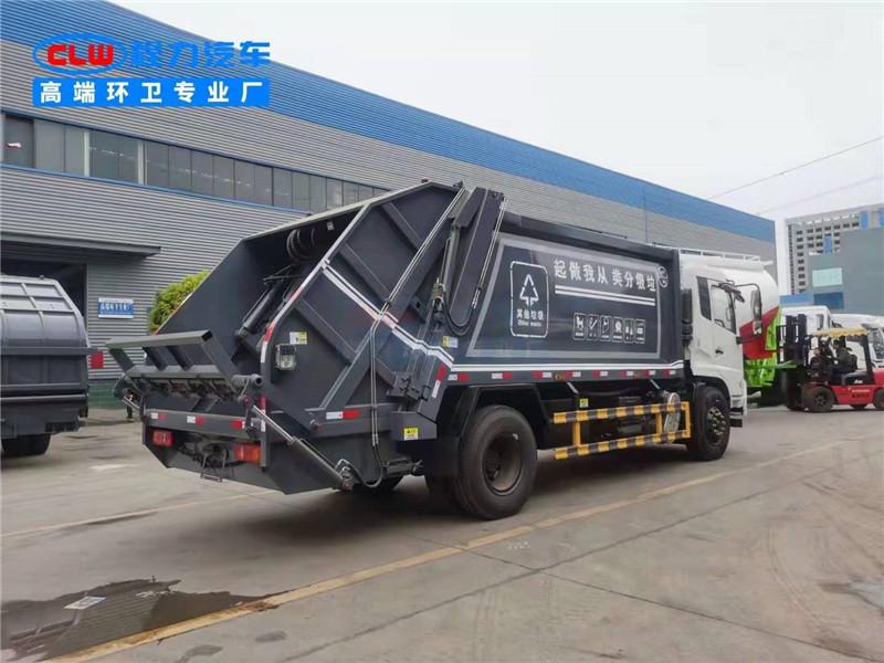 棗莊12方掛桶垃圾清運車物業垃圾車分期購