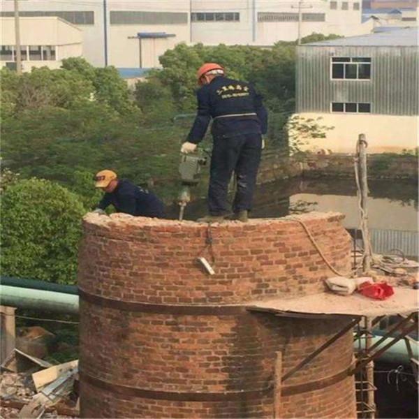 古交市烟囱拆除公司-实力派拆除队伍