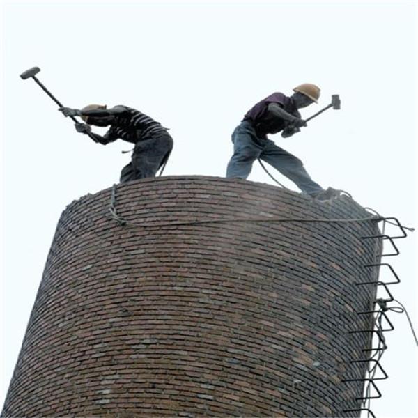威海市烟囱拆除公司-实力派拆除队伍