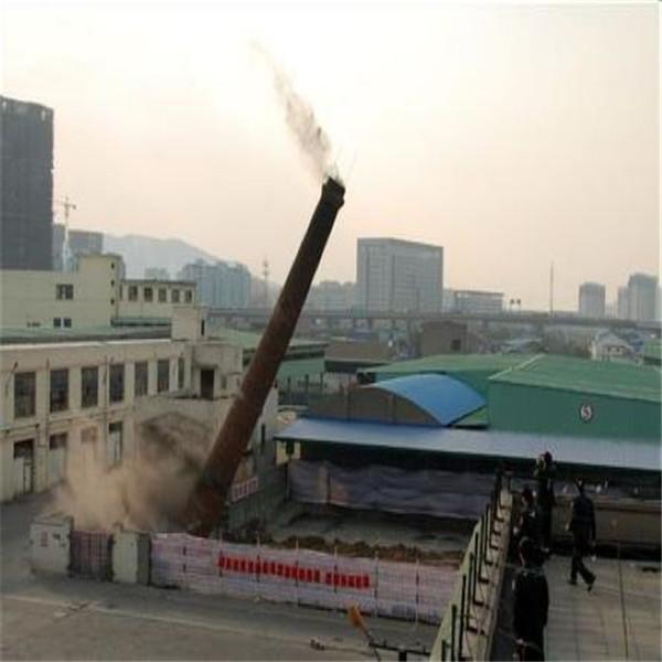 恩施市烟囱拆除公司-实力派拆除队伍