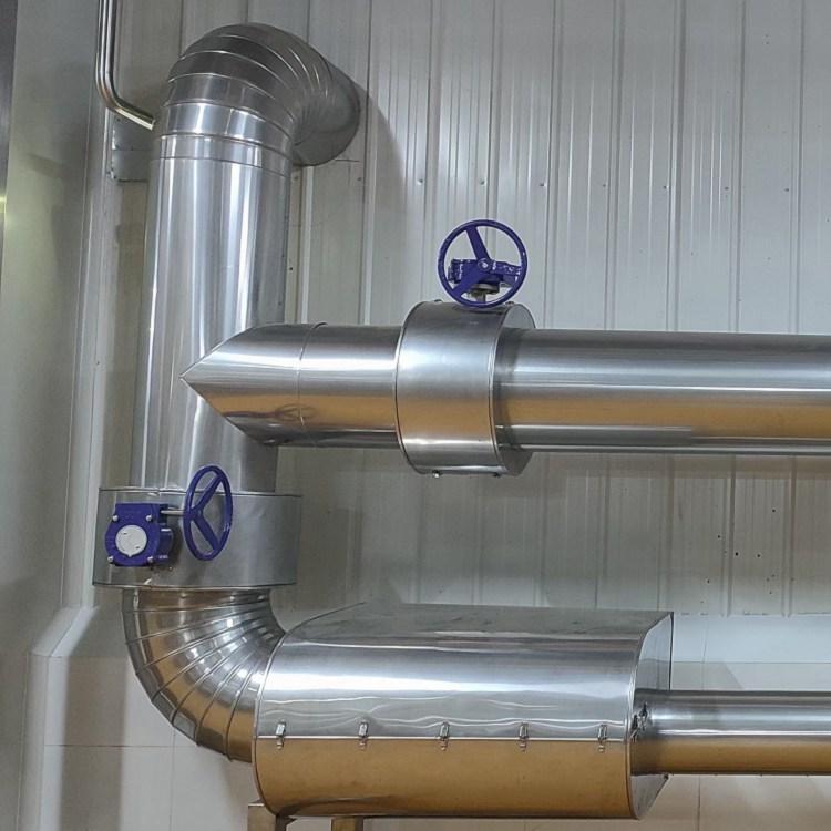 呂梁市管道保溫外層做鋁皮的施工方法