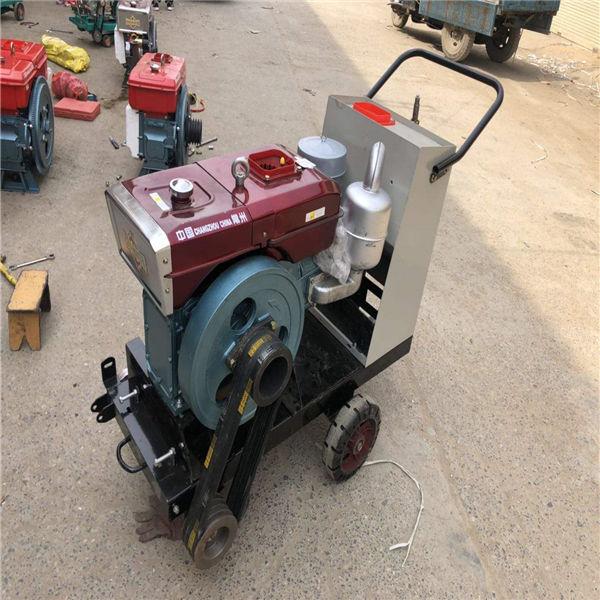 黃山瀝青電動馬路切割機 混凝土柴油馬路切割機