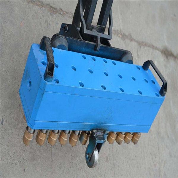 資訊:自貢小型地面氣動7頭鑿毛機