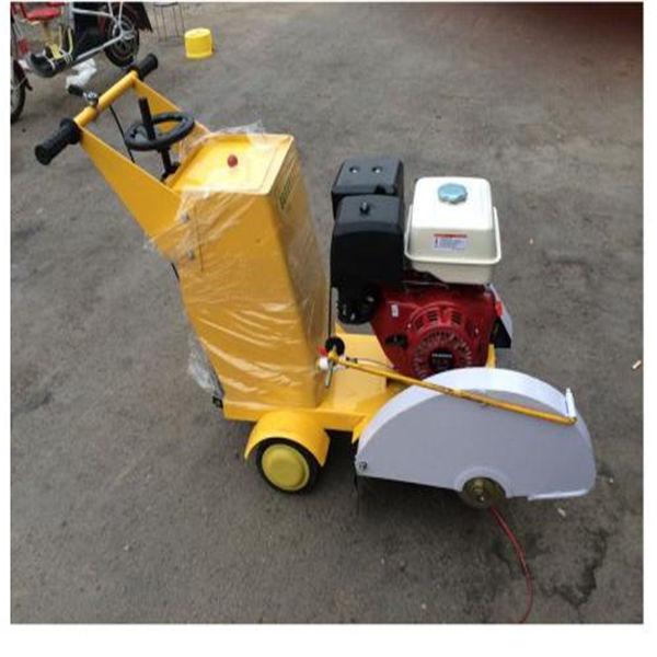 江蘇泰州混泥土路面汽油切割機手推式切割機