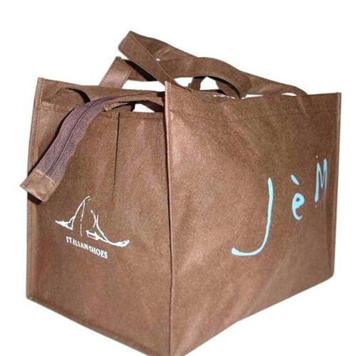 珠海双肩背包厂家礼呈汕头环保袋厂空白环保袋现货