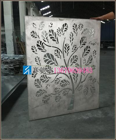 铝单板雕花树枝图案加工厂家