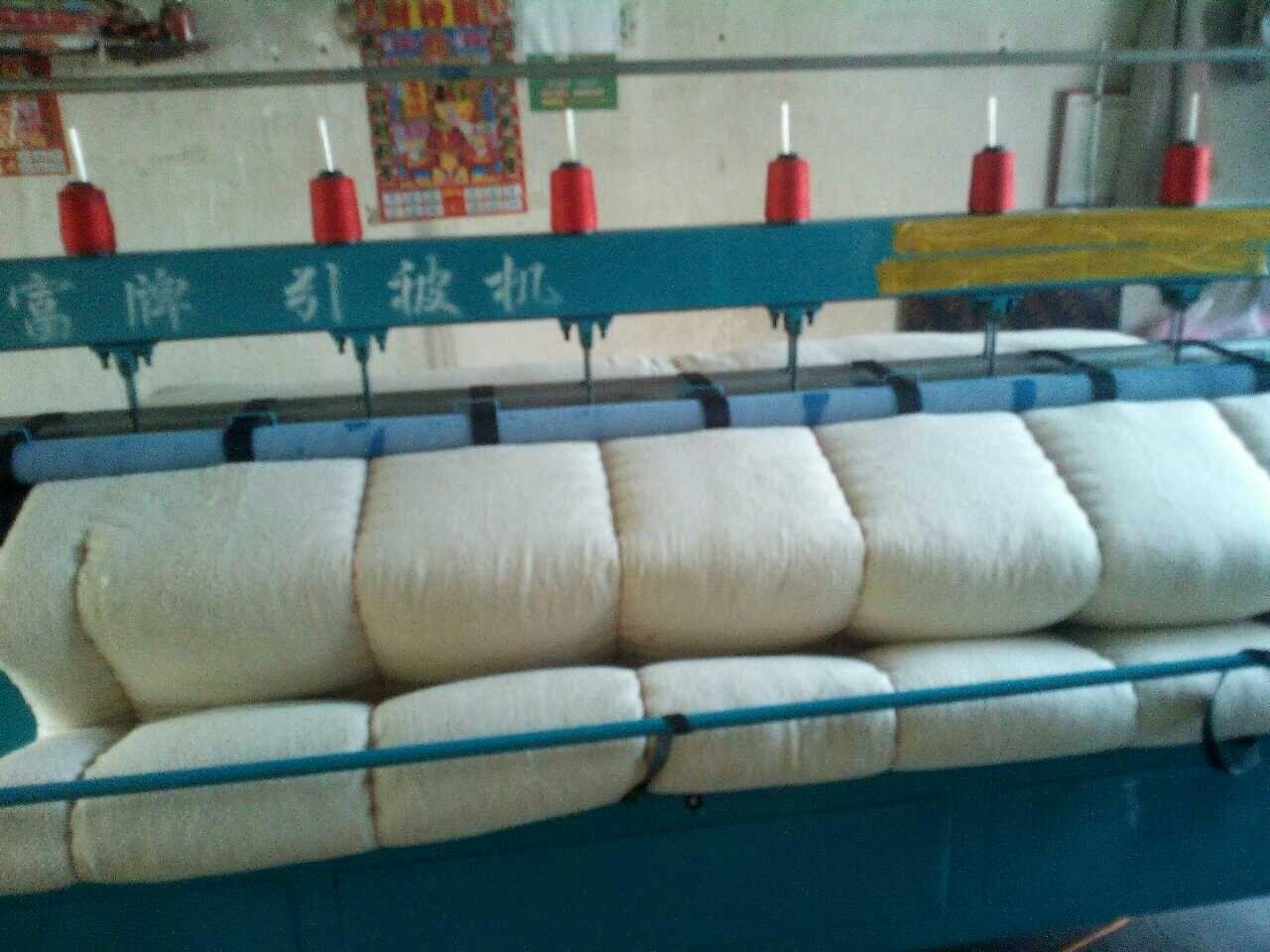 引被机生产销售 多针直线绗缝机棉被绗缝机无梭引被机价格自动引被机