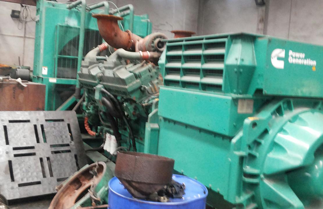 发电机回收二手发电机高价收购电缆发电机变压器