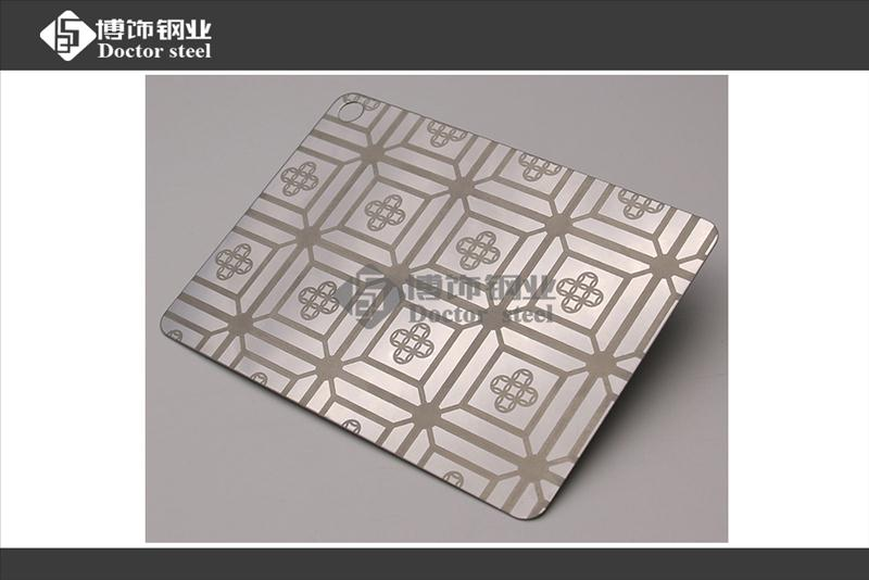 佛山博饰钢业304不锈钢镜面蚀刻板,不锈钢蚀刻厂