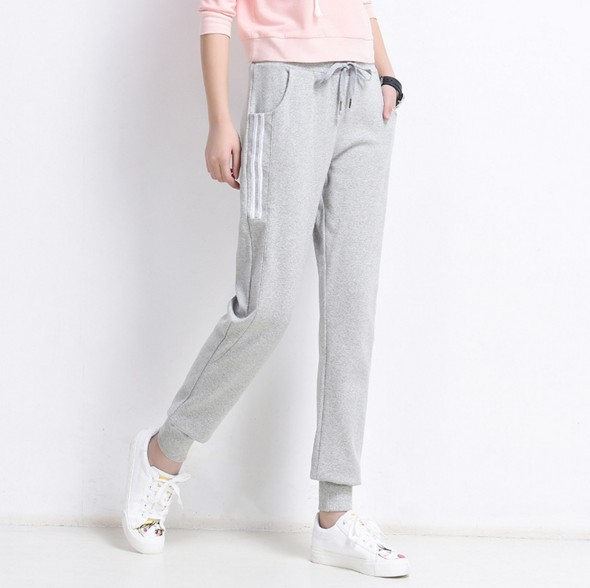 运动裤学生裤生产学生运动裤休闲裤