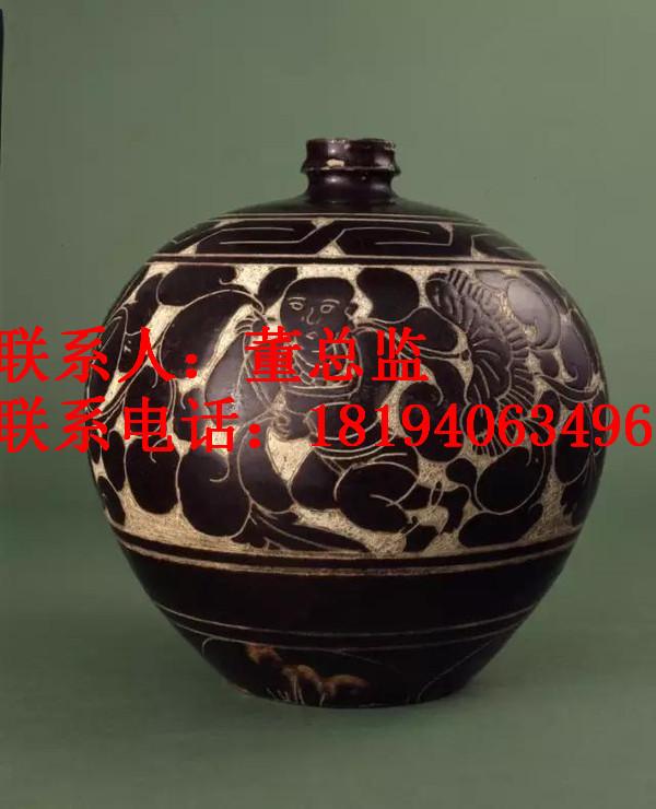 磁州窑瓷价值交易价格入会? 磁州窑瓷交易记录深圳雍乾