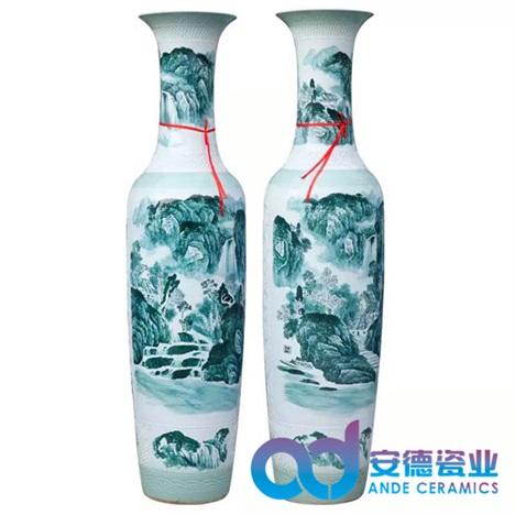 礼品大花瓶 瓷器大花瓶定制 景德镇陶瓷花瓶