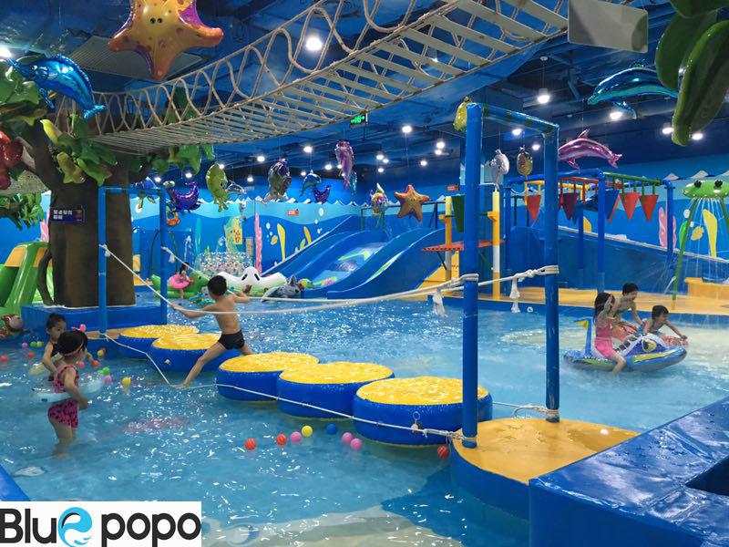 主题性的室内儿童水上乐园如何突出重围儿童室内恒温水上乐园